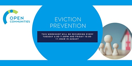 Eviction Prevention (Recurring Tuesday & Friday Workshop) tickets