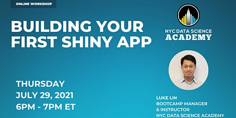 Building Your First Shiny App   NYCDSA Instructor Workshop tickets