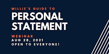 WEBINAR   Millie's Guide to Personal Statement biglietti