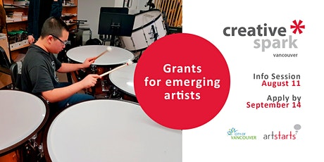 Grant Info Session: Creative Spark Vancouver tickets