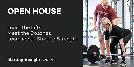 Open House + Coaching Demonstration tickets