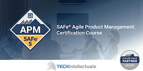 SAFe Agile Product Management | SAFe APM 5.0 - Live Virtual Training tickets