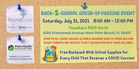 Back-2-School Vaccine Event tickets