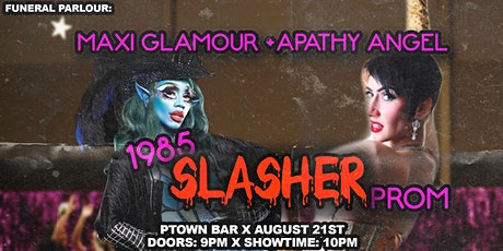 Funeral Parlour: 1985 SLASHER Prom tickets