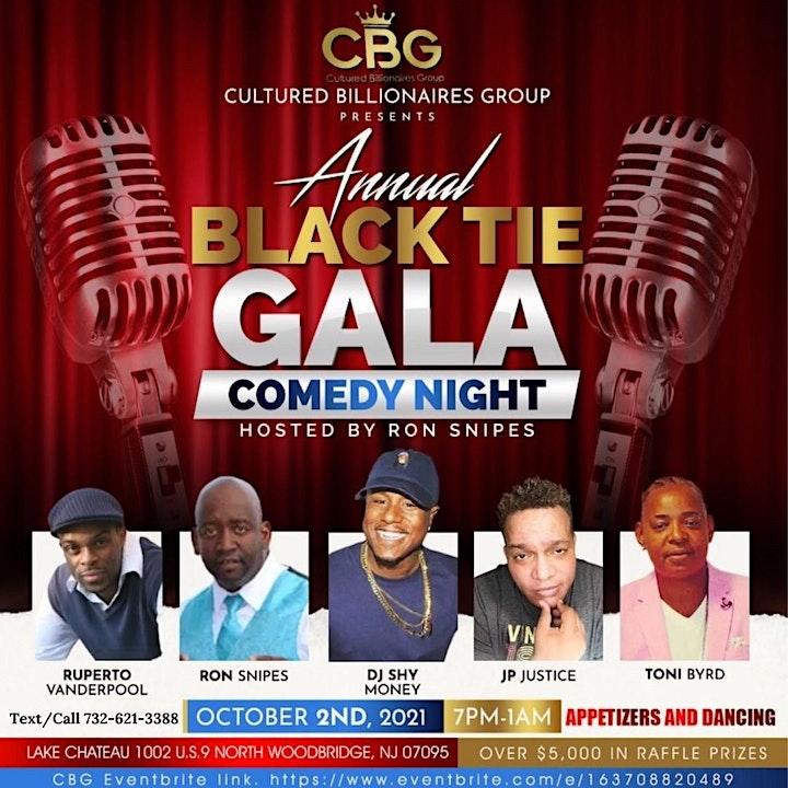 CBG Annual Black Tie Gala and Comedy Show image