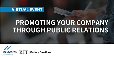 Promoting Your Company Through Public Relations tickets