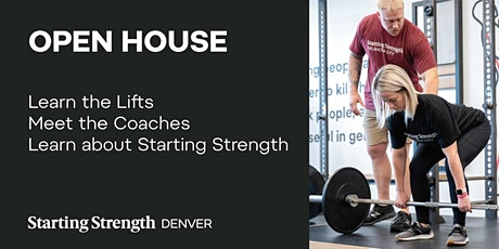 Gym Open House & Free Coaching Demonstration at Starting Strength Denver tickets
