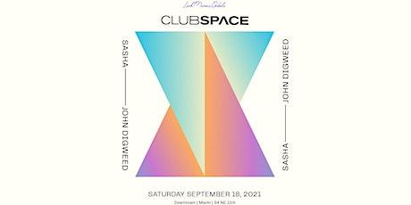 Sasha & John Digweed @ Club Space Miami tickets