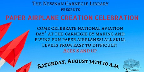 Paper Airplane Creation Celebration tickets