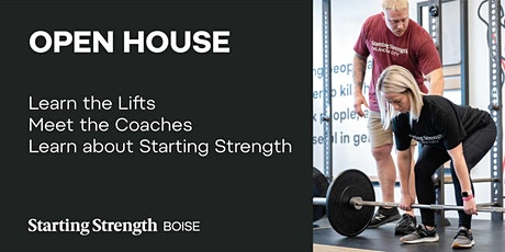 Free Open House at Starting Strength Boise tickets