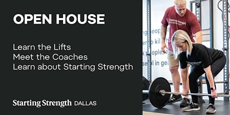 Open House and Coaching Demonstration at Starting Strength Dallas tickets
