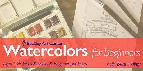 Watercolors for Beginners tickets