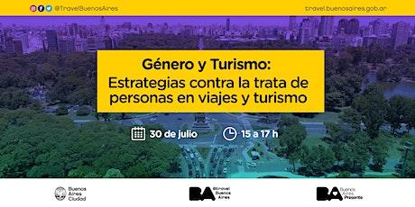 Género y Turismo: Estrategias contra trata de personas en viajes y turismo entradas