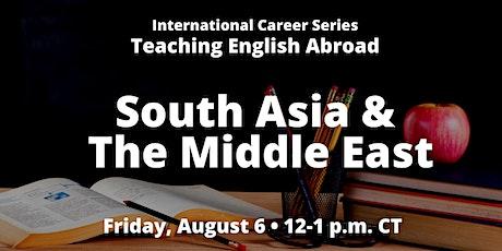 ICS: Teaching English Abroad: South Asia & The Middle East biglietti
