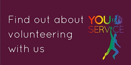 Info session on volunteering with our youth service tickets