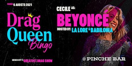 Drag Queen Bingo Beyoncé boletos