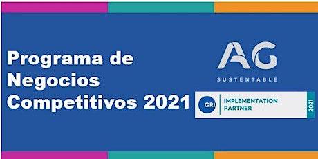 Charla Informativa  Programa de Negocios Competitivos GRI en Argentina entradas
