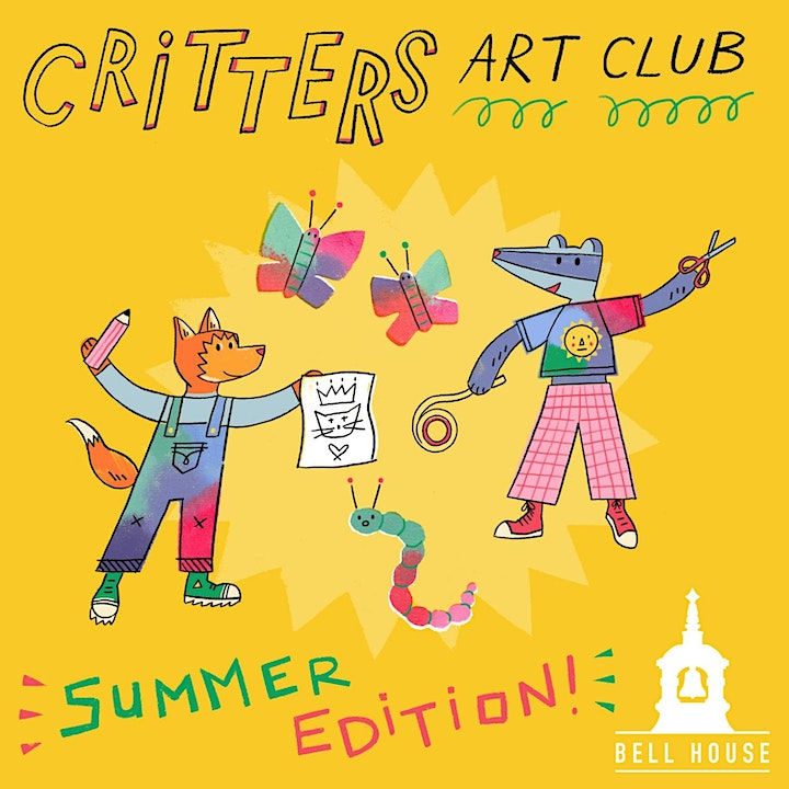 Critters Art Club - 'Flower Bed Figures' (Summer Edition!) image