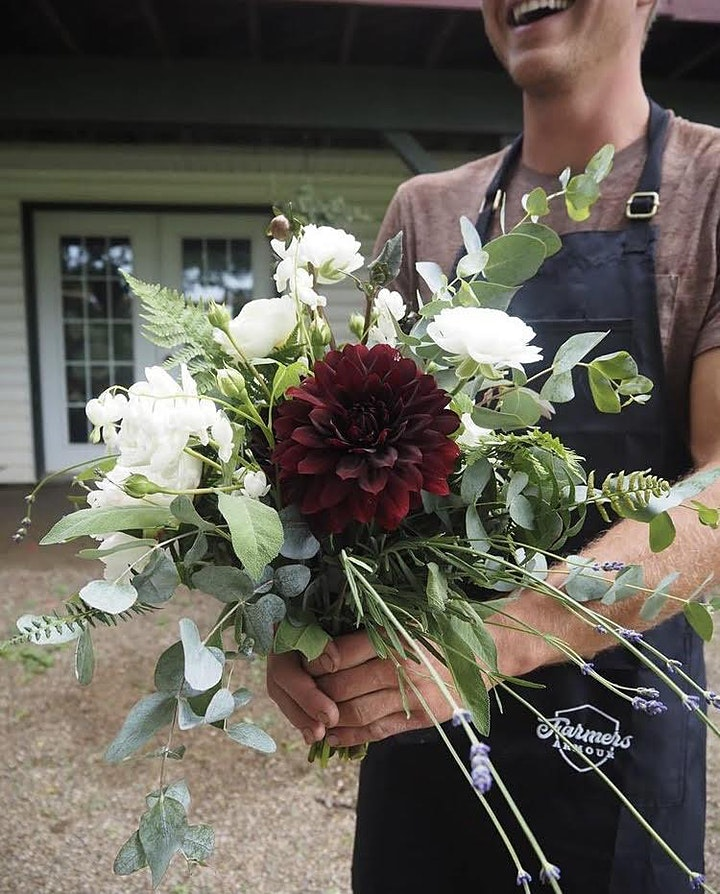 B.Y.O.B. - Build Your Own Bouquet at Troutman Vineyards image