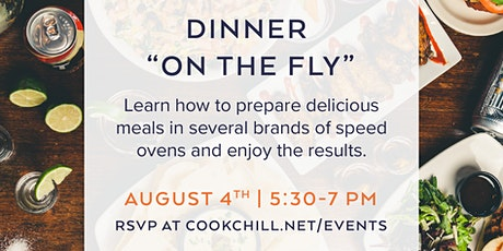"""Dinner """"on the fly"""" tickets"""