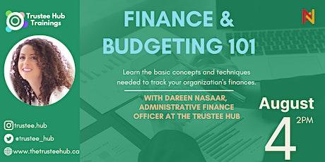 Finance and Budgeting 101 biglietti