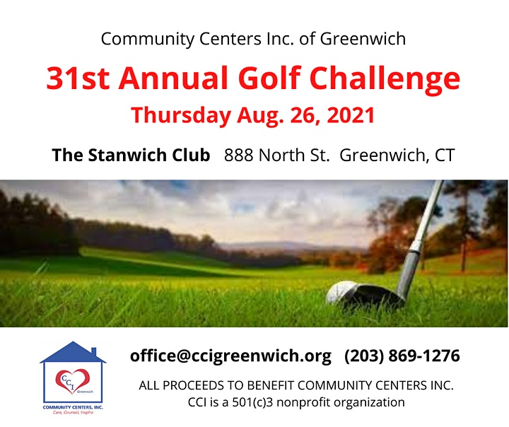 CCI of Greenwich's 31st Annual Golf Challenge at The Stanwich Club image