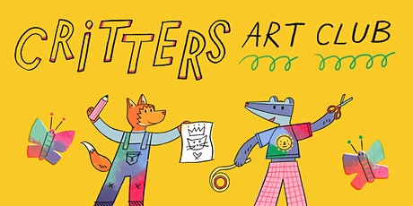 Critters Art Club - 'Make a Kite' (Summer Edition!) tickets