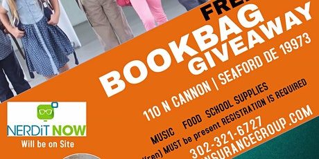 FREE  BOOKBAG GIVEAWAY & COMMUNITY EVENT tickets