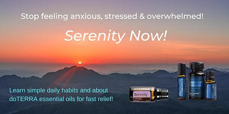 Serenity Now! -  Learn simple ways to feel calm & sane tickets
