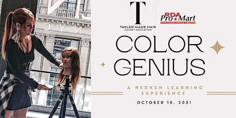 Tayler Made Hair X RDA: Color Genius tickets