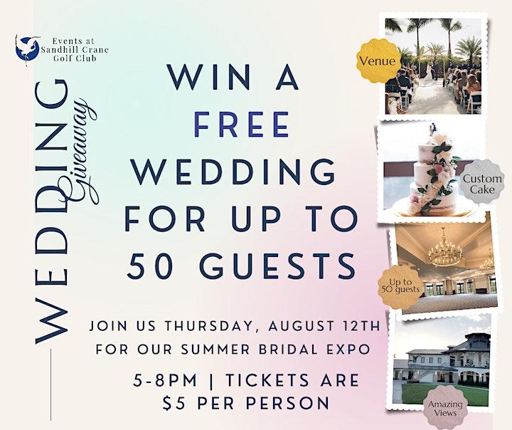 Sandhill Crane Summer Bridal Expo image