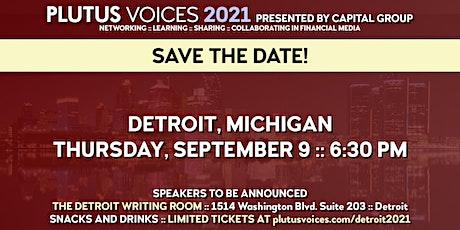 Plutus Voices Detroit 2021 tickets