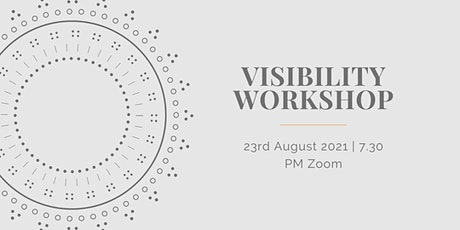 Visibility Workshop tickets