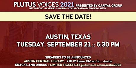 Plutus Voices Austin 2021 tickets