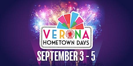 Verona Hometown Days tickets