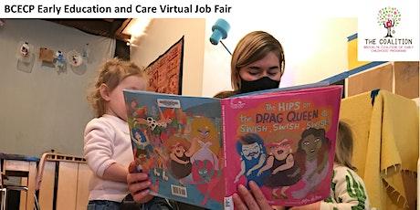 BCECP Early Education and Care Virtual Job Fair tickets