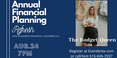 Annual Financial Planning- Refresh tickets