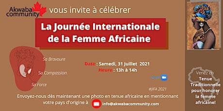 Célébrons La Journée Internationale de la Femme Africaine billets
