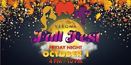 Verona Fall Fest tickets