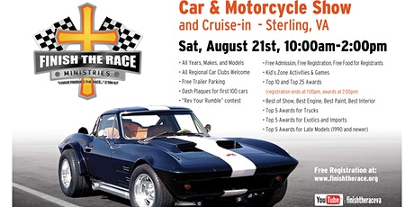 2021 Finish the Race Ministries Summer Car & Motorcycle Show tickets