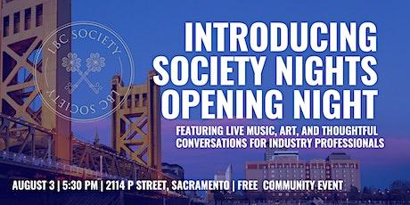 LBC Society Opening Night tickets