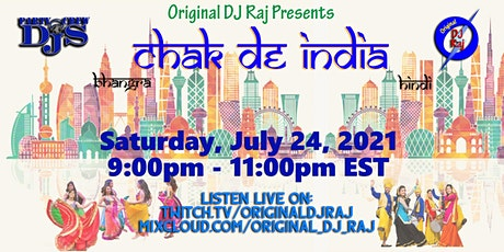 Chak De India - Saturday Nite Party tickets