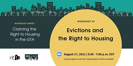 Evictions and the Right to Housing tickets