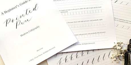 Pointed Pen Calligraphy tickets