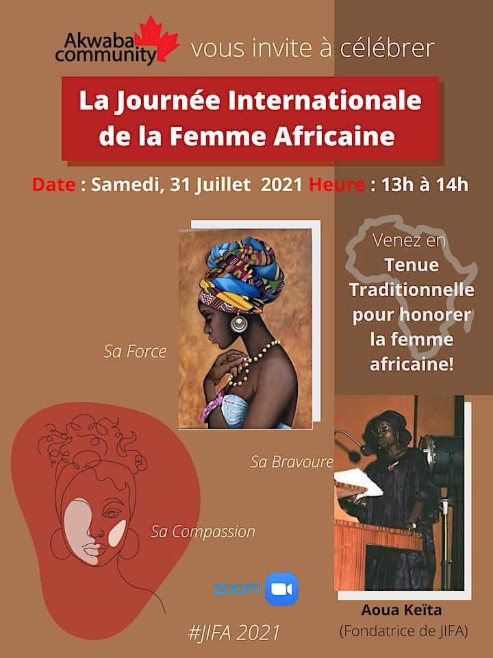 Célébrons La Journée Internationale de la Femme Africaine image