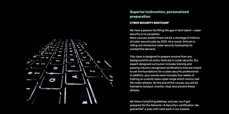 Security+  Cohort | IT Pro Training Bootcamp by Gritcom Coaching tickets