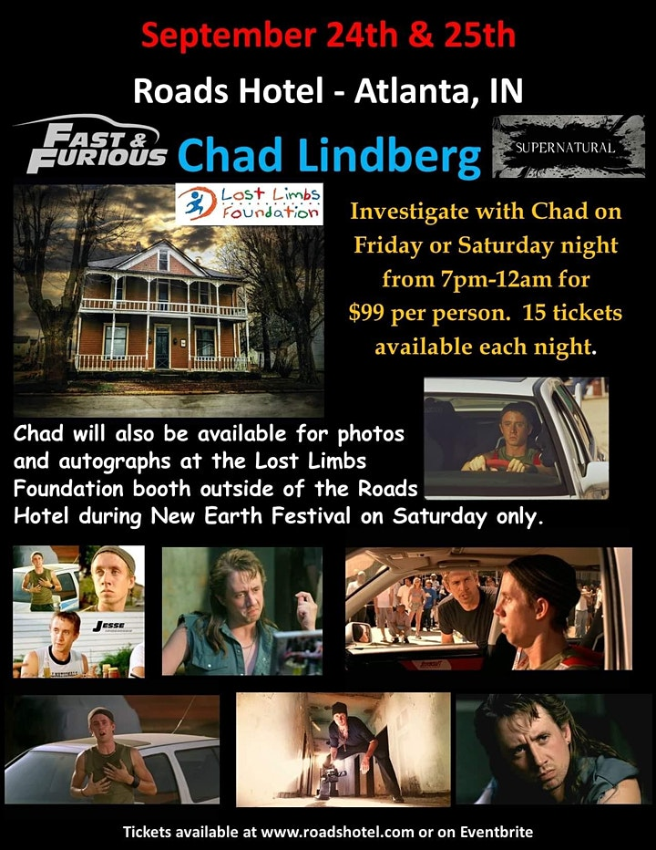 Paranormal Investigation with Chad Lindberg image