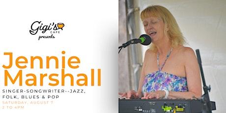 Jennie Marshall: Jazz, Folk, Blues & Pop Singer tickets
