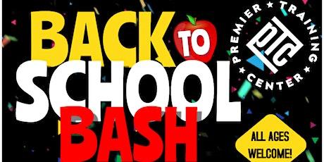 PTC Back to School Bash 2021 tickets