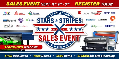 Stars & Stripes Sales Event tickets